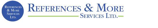 References and More Services Ltd